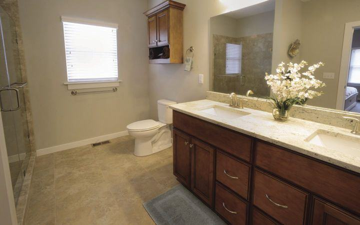 Bath of Model Home